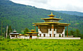 Our tours - Monastery in Thimphu - the capital and largest city of Bhutan