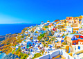 Santorini - Cyclades, Greece - photo stock