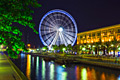 Holiday pictures - Sharjah (city) -  Eye of the Emirates - Riesenrad in Al Qasba