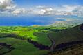 Pau Pique lagoon, São Miguel Island (Azores) - photo stock