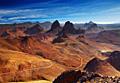 Krajobrazy Algierii - foto podróże - Sahara i masyw górski Ahaggar