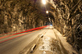 Photos - Gibraltar - Gibraltar's terrain consists of the 426-metre-high (1,398 ft) Rock of Gibraltar made of Jurassic limestone, and the narrow coastal lowland surrounding it. It contains many tunnelled roads, most of which are still operated by the military and closed to the general public.