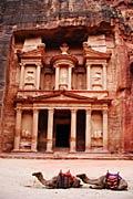 Petra, Jordan - Treasury at Petra