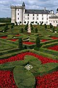garden pictures - Villandry Castle