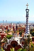Park Güell  Barcelona - architect Antoni Gaudí