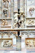 Milan Cathedral - photo stock