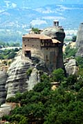 Holy Monastery of St. Nicholas Anapausas Photos - Meteora monasteries
