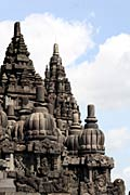Prambanan is the Hindu temple compound in Central Java, Indonesia