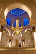 interior -Sheikh Zayed Grand Mosque