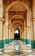 Hassan II Mosque - photo stock