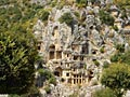 Lycian tombs  - pictures