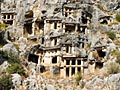 Lycian tombs - photo gallery