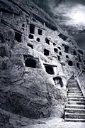 Longmen Grottoes - photo stock