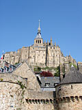 Abbaye du Mont-Saint-Michel - photographies