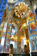 Interior Church of the Savior on Blood - Saint Petersburg - photo gallery