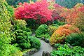 Butchart Gardens in Canada - photography