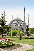 Sultan Ahmed Mosque - pictures - Blue Mosque